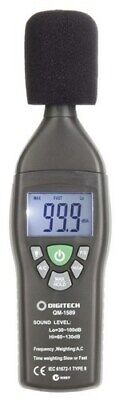 Compact Digital Sound Level Meter - Measure noise levels quickly and accurately