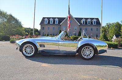 1965 Shelby Cobra Roadster Kirkham Cobra - Polished Aluminum Body with Supercharged Shelby 468 FE at 750+HP