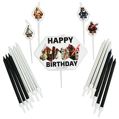 Star Wars Classic Trilogy Children's Birthday Party Cake Topper Candle Set