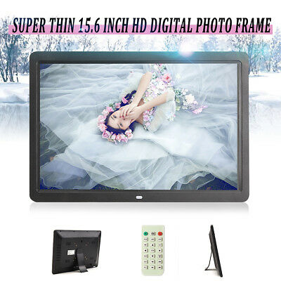 """15"""" HD Display Digital Photo Picture Frame MP3 Audio Video 2GB Memory Card Gift"""