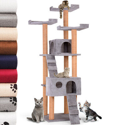 New Cat Tree Scratching Post Scratcher Large 171 cm Play House Made in Europe