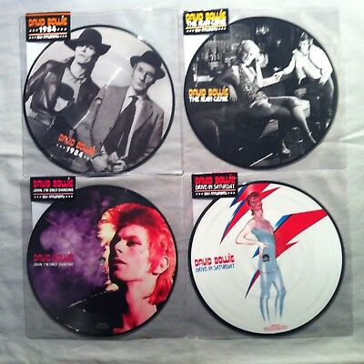 David Bowie - 1984 Jean Genie Drive In Saturday John Only Dancing Picture Discs