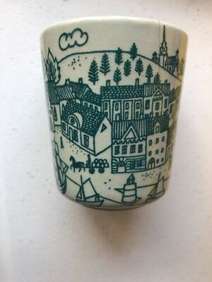 Nymolle Art Faience Paul Hoyrup Danish Pottery Demi Tasse Cup