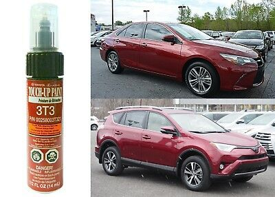 Genuine Toyota 00258-003T3-21 Ruby Flare Pearl 3T3 Touch-Up Paint Pen New
