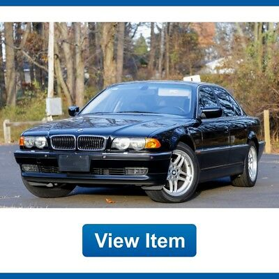 2000 BMW 7-Series Base Sedan 4-Door 2000 BMW 740i Navigation LOW 78K Mi California CARFAX Serviced M Rims!