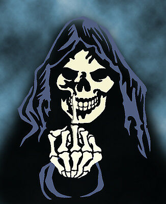 grim reaper 12 airbrush stencil multi layer template spray vision