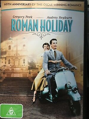 ROMAN HOLIDAY DVD 1953 William Wyler AS NEW! Audrey Hepburn Gregory Peck