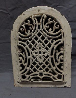 Antique Cast Iron Arch Dome Top Floor Register Heat Grate 12x9 Old Vtg 323-18P