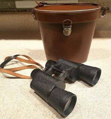 FREE SHIPPING! Vintage Binoculars AGFA 10 x 40 w/ Leather Case, Made in Germany