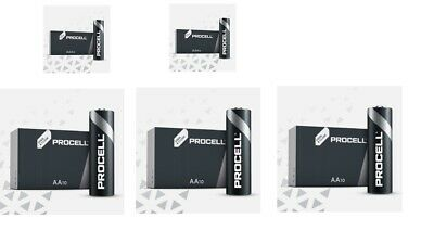 Duracell 20 x AAA and 30 x AA Industrial Battery Replaces Procell Expiry 2024