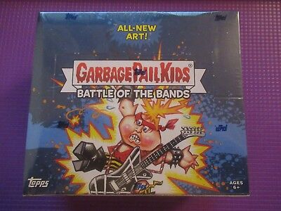 Topps Garbage Pail Kids Battle Of The Bands Hobby Box Brand New Factory Sealed