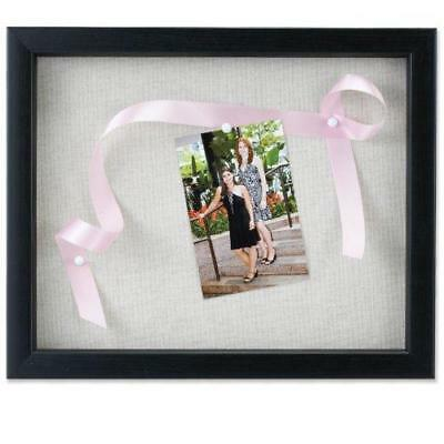 Lawrence Frames 790011 Black Wood Shadow Box Picture Frame 11 By 14
