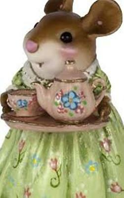 Wee Forest Folk A Cosy Tea Spring  M-594c Limited to 300 New 2017 #70 of 300