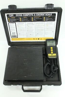 CPS CC220 Compute-A-Charge Refrigerant Scale