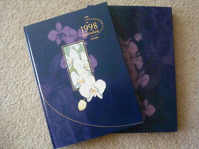 1998 Collection of Australian Stamps, deluxe  edition, book & slipcase FV $45.55