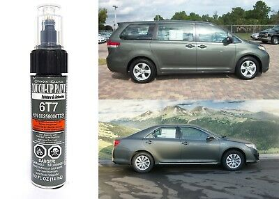 Genuine Toyota 00258-006T7-21 Cypress Green Pearl 6T7 Touch-Up Paint Pen New