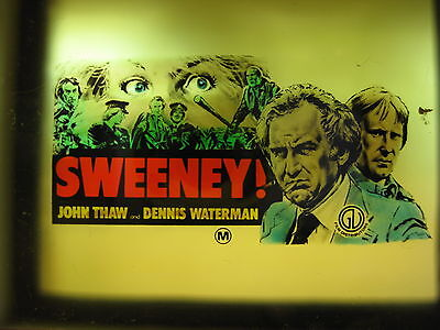 SWEENEY 1977 Rare cinema movie projector glass slide Dennis Waterman John Thaw