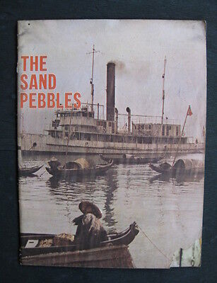 THE SAND PEBBLES 1968 Orig movie programme Steve McQueen Candice Bergen naval