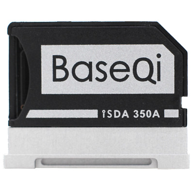 BaseQi Aluminum MicroSD Adapter for Microsoft Surface Book/Surface Book 2 13.5""