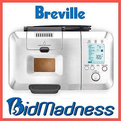 NEW BREVILLE BBM800BSS the CUSTOM LOAF PRO™ BREAD MAKER  2YRS WNTY  P'UP AVAIL