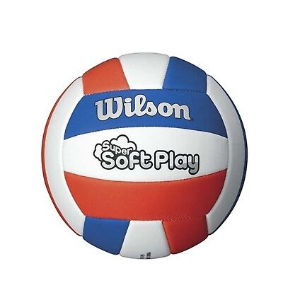 (red/white/blue) - Wilson Super-Soft Play Volleyball. Shipping Included