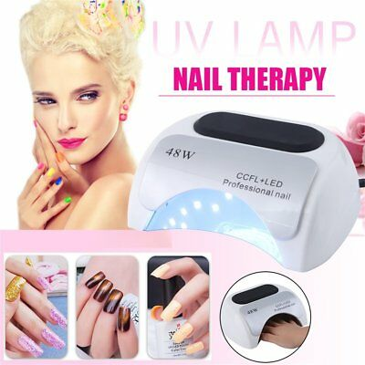 Professional 48W CCFL LED UV Lamp Nail Dryer For Gel Polish Curing US/EU     RG