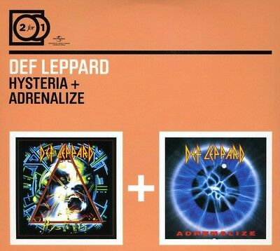 Def Leppard - Hysteria / Adrenalize (2 Disc) CD NEW