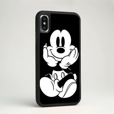 Mickey Mouse Michael Mick Disney Cartoon Silicone Case Cover for iPhone Samsung