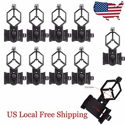 10X Universal Telescope Cell Phone Mount Adapter for Monocular Spotting Scope US