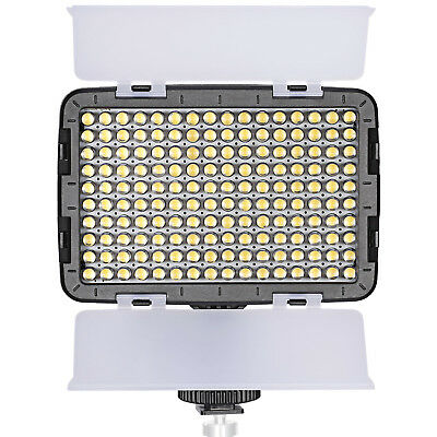Neewer OE-160C Dimmable LED Barndoor On Camera Video Light for Canon Nikon Sony
