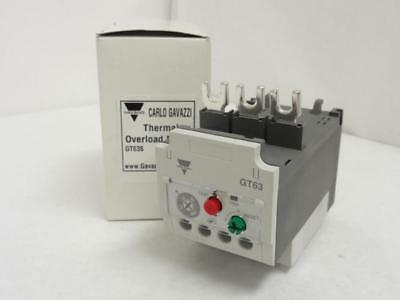 143790 New In Box, Carlo Gavazzi GT63 Thermal Overload Relay, 24-36A, 3P, 600V