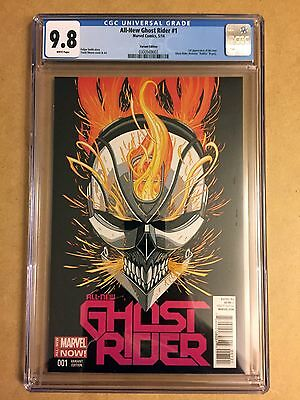 All-New Ghost Rider #1 Tradd Moore Variant Cgc 9.8 1St Appearance Robbie Reyes