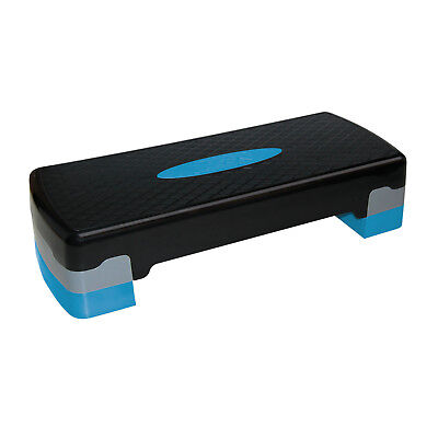 Best Sporting Aerobic Stepper Steppbrett Fitness Board Step Brett , schwarz blau