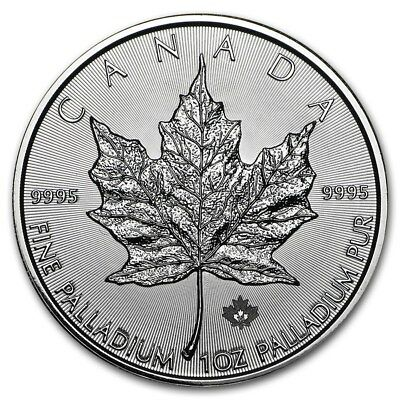 1 oz Palladium Maple Leaf  2015 - 50 Dollar Kanada Palladiummünze 999,5