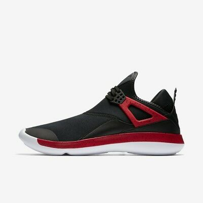 on sale a9738 8356f Nike Jordan Mouche  89 TENNIS HOMMES CHAUSSURE NOIR ROUGE BLANC Size 7 - 11  NEUF