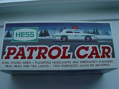 NIB 1993 Hess Patrol Car Pulsating Lights Siren Flashers