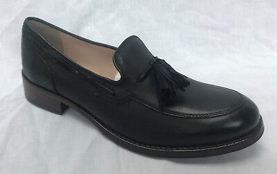 BNIB Clarks Ladies Tomina Bay Black Leather Loafer Shoes
