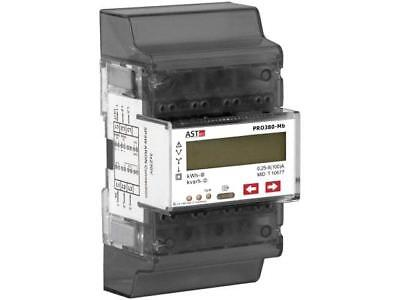 PRO380MOD-CT Electric energy meter LED 8 digits, with a backlit ASTAT