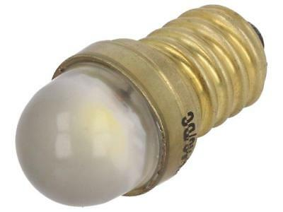 LW-E14-24AC/DC LED lamp white E14 24VDC 24VAC POLAM-ELTA