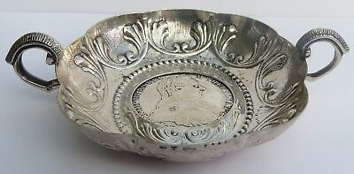 Superb Antique Austrian Silver Taste Du Vin