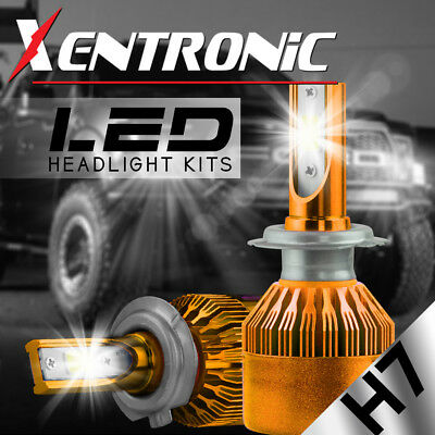 XENTRONIC H7 1080W 162000LM LED Headlight Kit High Low Beam Bulbs CREE 6500K