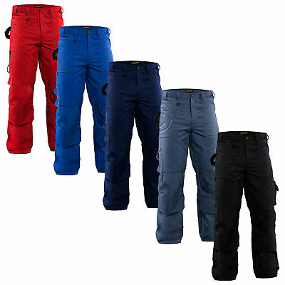 Blaklader Work Trousers with Cordura Kneepad Pockets (PolyCotton) - 1570 1860