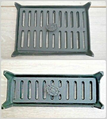 NEW Vintage Style Cast Iron Sliding Air Brick Wall Vent Ventilation Grill Cover