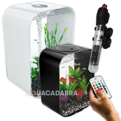 biOrb Life Tropical Aquariums Fish Tank Kit Heater MCR Colour Changing Remote