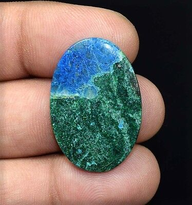 21.05 Cts. 100 % Natural  A+ Chrysocolla Oval Cabochon Untreated Loose Gemstones