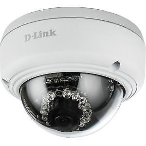 NEW! D-Link DCS-4602EV Network Camera Colour 1920 X 1080 Cable Dome
