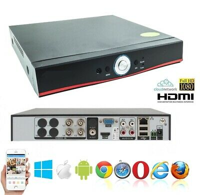 Dvr Ibrido Cloud 5In1 Nvr Cvi Tvi Hvr Ahd Analogico 8 Ch Canali Full Hd 1080P