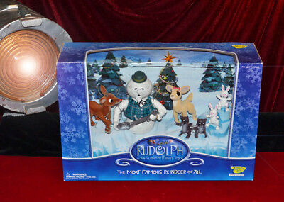 RUDOLPH and the Island of Misfit Toys MINT, Character SET MIB, Memory Lane #6731