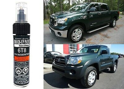 Genuine Toyota 00258-006T8-21 Timberland Green Mica 6T8 Touch-Up Paint Pen New