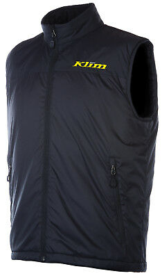 Klim Mens Black Torque Snowmobile Mid-Layer Vest Snocross Snow